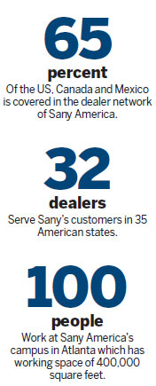 Sany America gaining traction in US