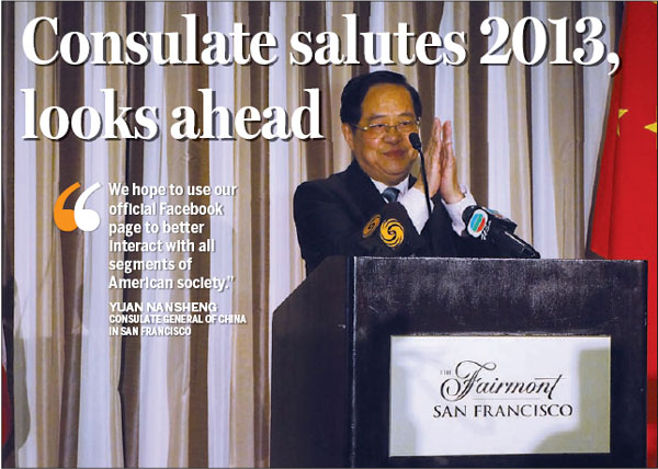Consulate salutes 2013, looks ahead