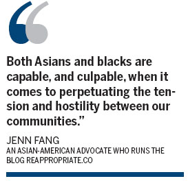 Why black-Asian tensions persist