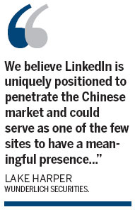 Will LinkedIn make it in China?