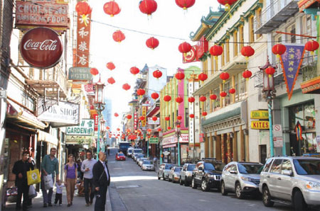 Who's got the No 1 Chinatown in the US?