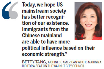 Betty Tang is ready for the political fray