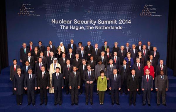World leaders at the Nuclear Security Summit