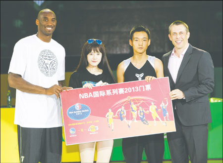NBA does a slam-dunk in China