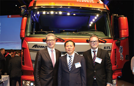 US, China firms team up on green truck play