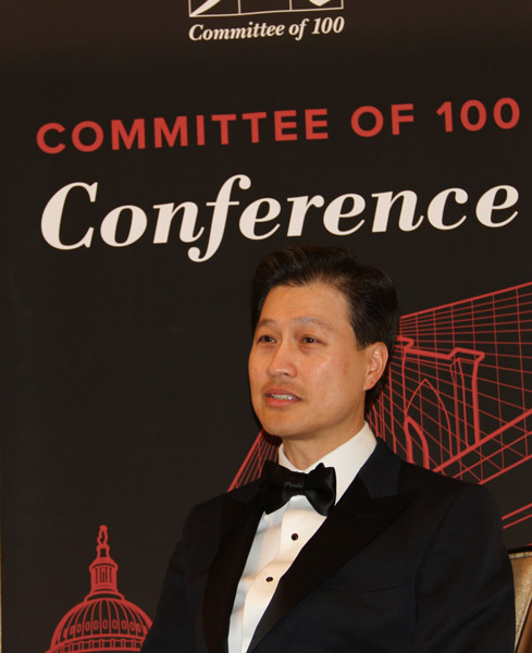 Dominic Ng completes term as C-100 chairman