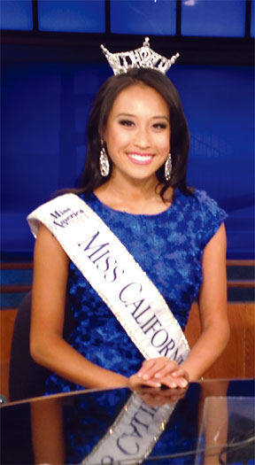 Miss CA: Key to success is to 'keep trying'