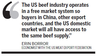 US beef industry eager for China to resume imports