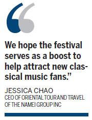 Global music festival tunes up