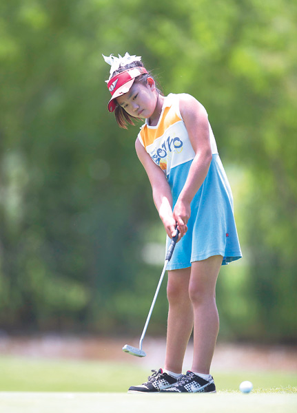 Lucy Li, at age 11, makes US golf history