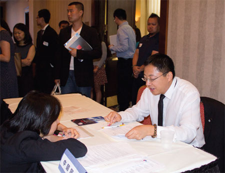 Career Fair draws a big crowd