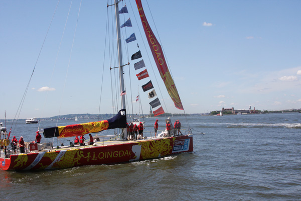 Qingdao native aims to make sailing history