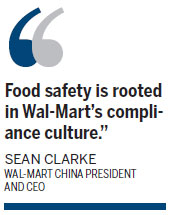 Wal-Mart to triple efforts on food safety