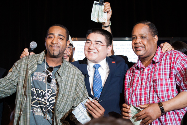 Chen Guangbiao's charity event provides lunch, no cash