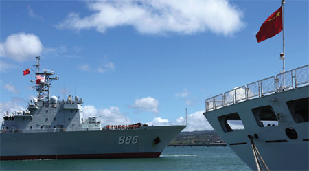 RIMPAC launches, with China