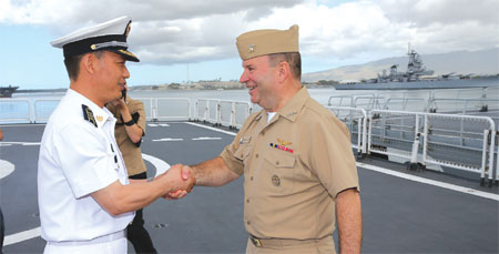 Chinese navy in Hawaii for joint exercise
