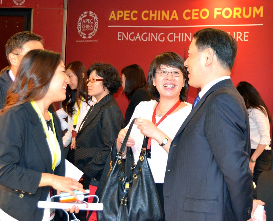 APEC China CEO Forum opens in Seattle