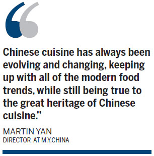 M.Y. China: Tradition with a twist