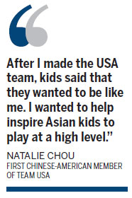 Chinese-American hoopster makes history