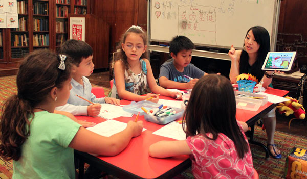 Summer program brings China closer to US children