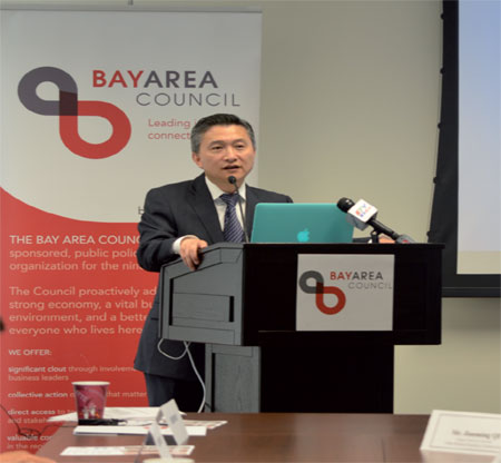 Chinese banking delegation visits Bay Area