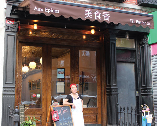 High rent pressures NYC Asian eateries