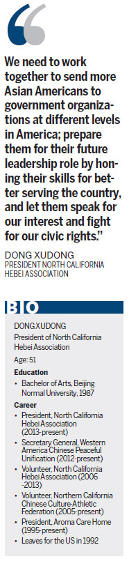 Dong Xudong: No longer a 'headless fly'