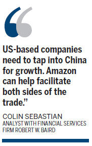 Amazon's Shanghai FTZ platform to tap China for growth