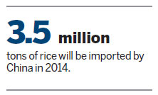 US rice could see potential market in China