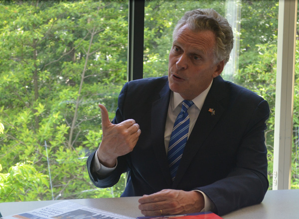 Virginia's governor bids to expand China business ties