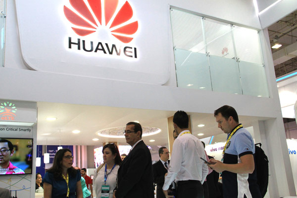 Huawei uses Brazil exhibition to show products