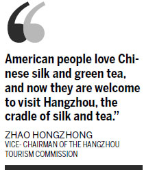 Allure of Hangzhou: silk and tea