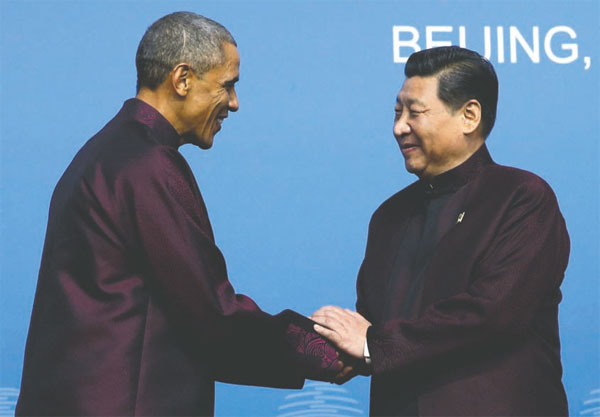 2014 ends on positive note for US, China