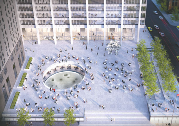 Fosun to spiff up NY office plaza