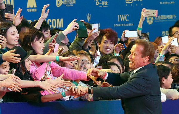 Beijing film festival draws top moviemakers, Oscar winners