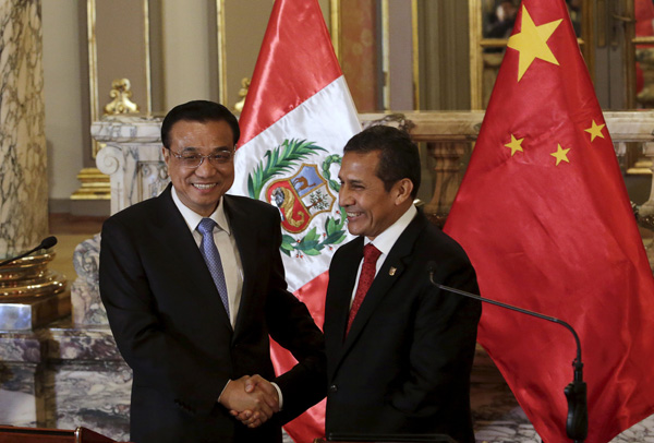 China, Peru to diversify trade focus