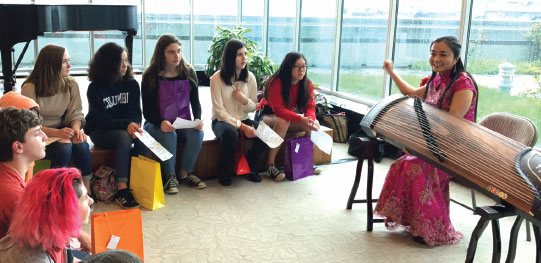 Students get taste of China in consulate visit