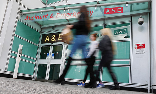 Most UK patients saw no change on Monday after cyber attack -minister