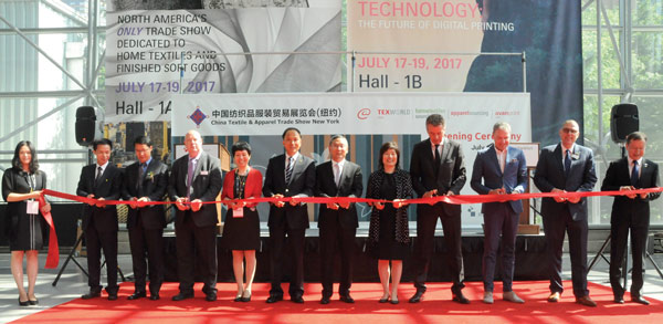 Chinese, US textile companies share worldview