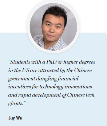 China lures PhD holders