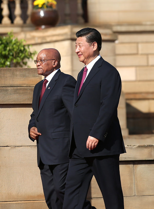 China-S. Africa ties at all-time high