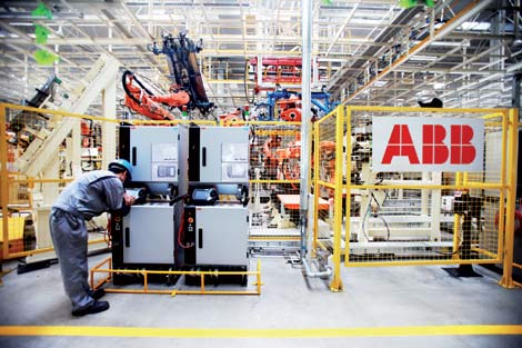 ABB sets sights on 'designed in China'[1]|chinadaily com cn