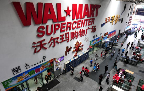 wal mart's foreign expansion Wal-mart's growth is primarily coming from its international business which is getting strong support from brazil, mexico and china although the company is slowing down its store expansion in.