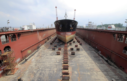Only the fittest shipyards set to weather the storm