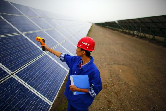 China's solar industry rebounds