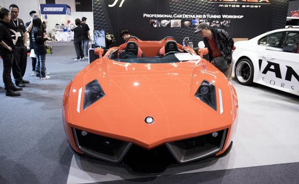 HK Car Show Kicks Off During Christmas Seasonchinadailycomcn - Car show usa