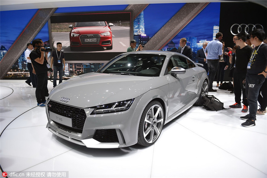 Top 10 dazzling new car models at Beijing auto show1 Photos