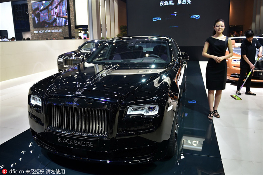 Top 10 luxury cars at Beijing auto show[4]| Photos