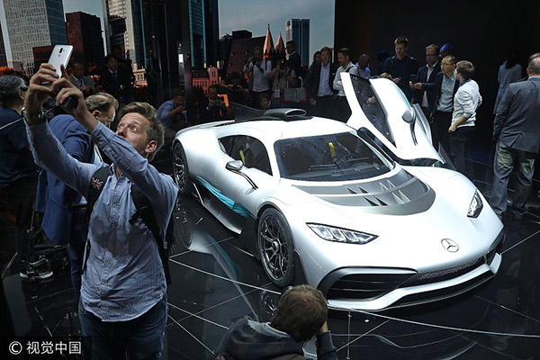 Electric Key Word At Frankfurt Motor Show USA Chinadaily - Auto show usa