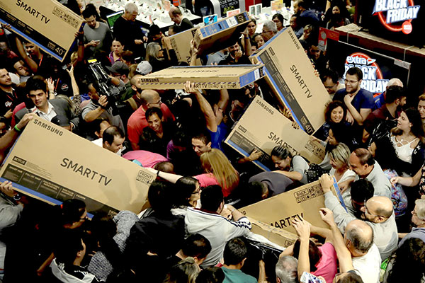 The percentage of American adults who will go shopping on Black Friday, according to new research from the Consumer Electronics Association. That's a staggering more than 1 in 3 of us! That's a.